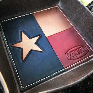 Texas flag valet trays