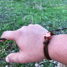 Load image into Gallery viewer, Texas copper bead bracelet