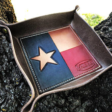 Load image into Gallery viewer, Texas flag valet trays