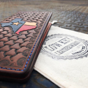 Republic of Texas roper wallet