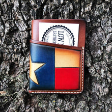 Load image into Gallery viewer, Texas flag Hondo wallet