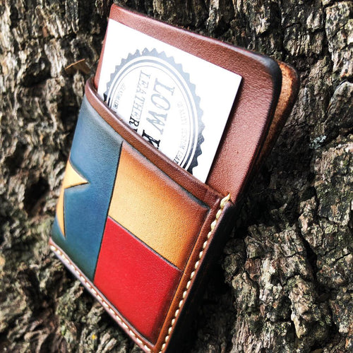 Texas flag Hondo wallet