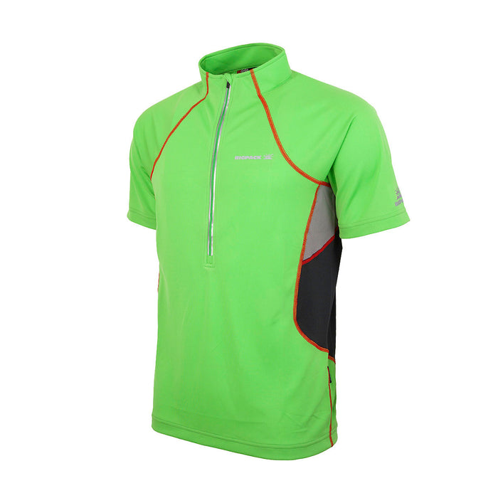 ACTIVE T-SHIRT 1/2 ZIP