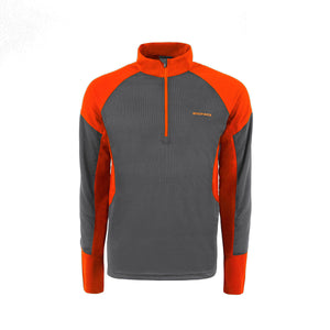 ACTIVE 1/2 ZIP LS T-SHIRT