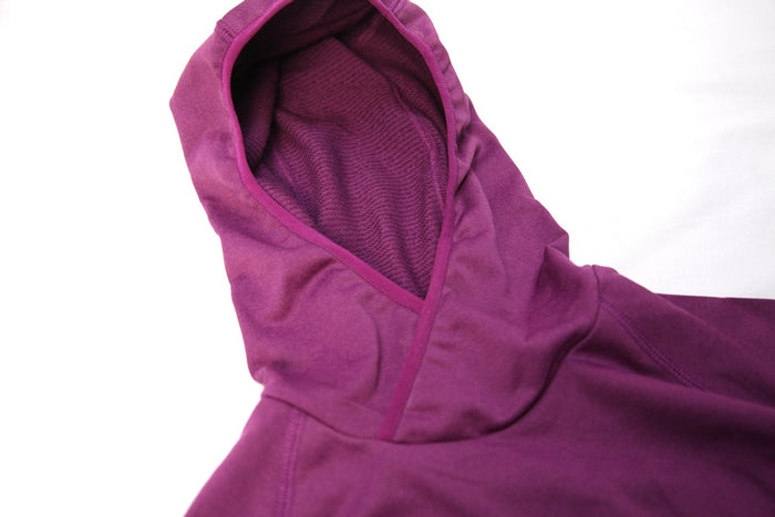 LD PLUME HOODED SWEAT