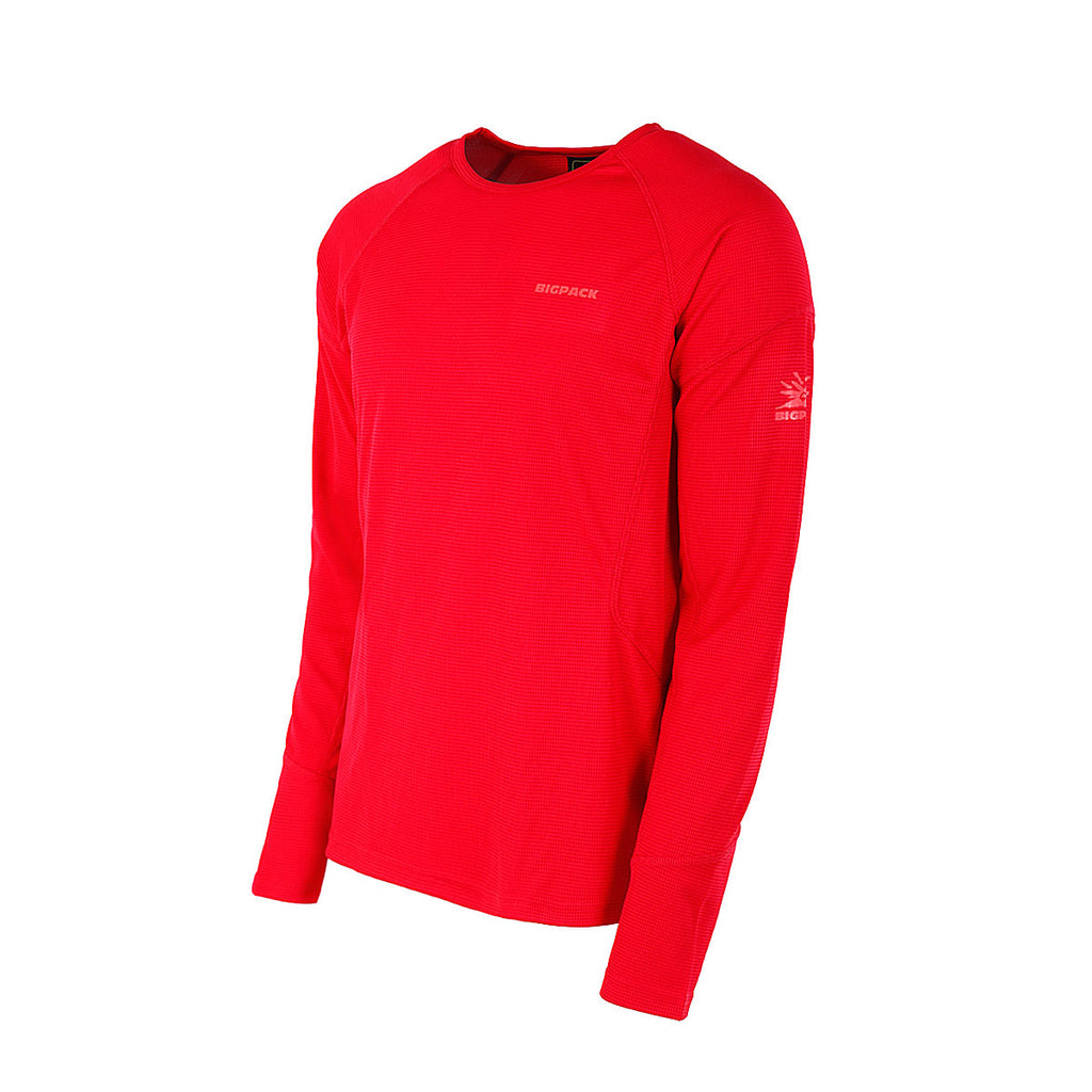 ACTIVE ROUND NECK LS T-SHIRT