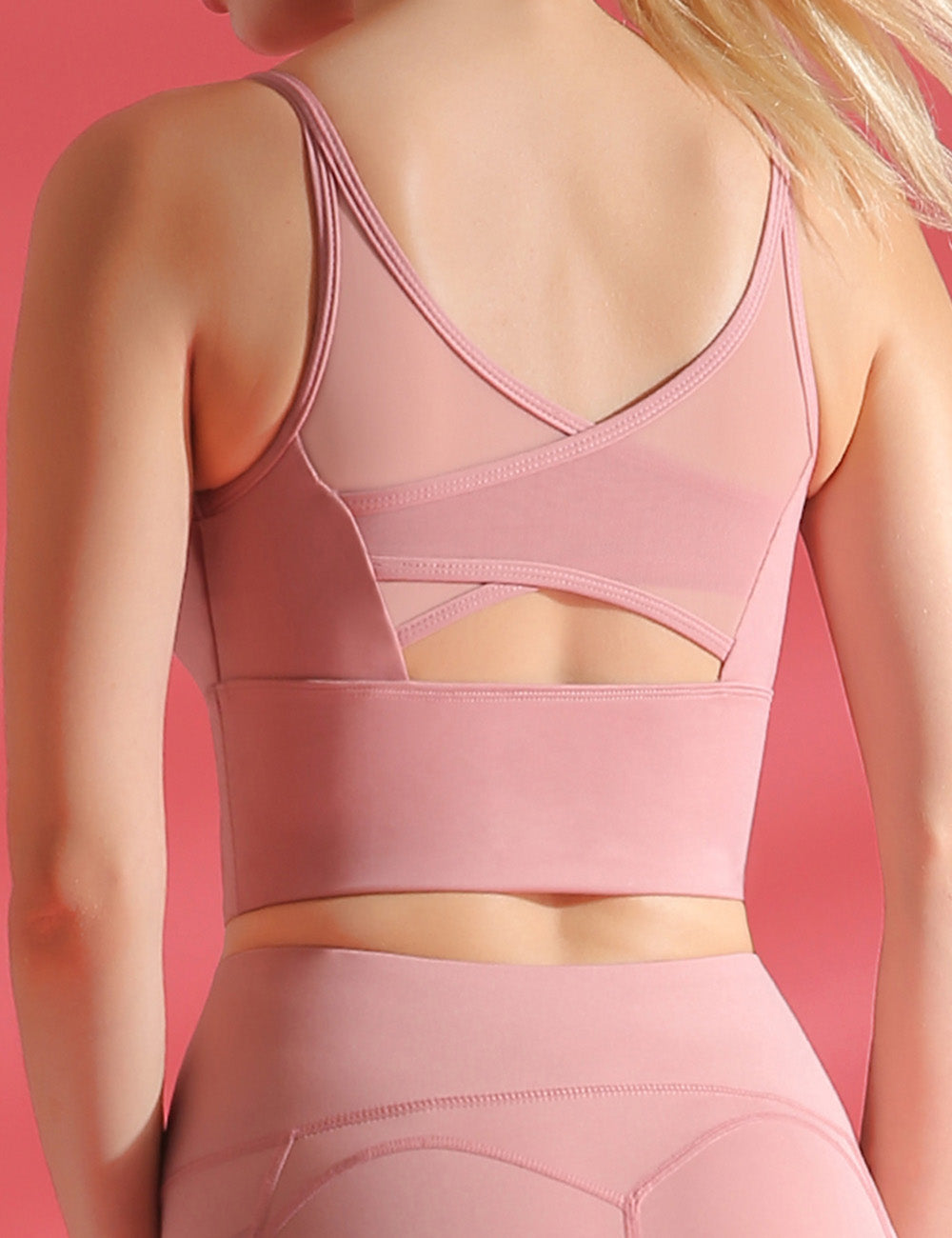 High Impact Racerback Sports Bra - Sports Accessories Collectors - Shinymod