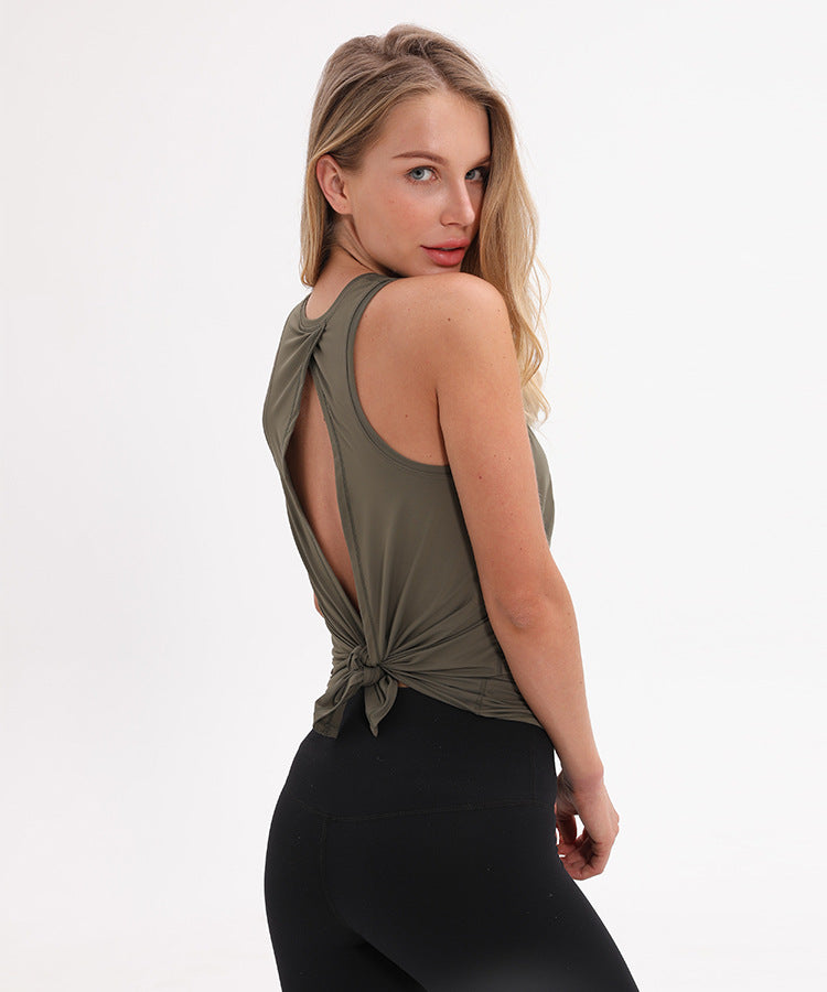Loose Yoga Top Sports Vest