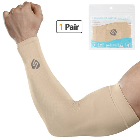 UV Protection Cooling Arm Sleeves For Sports - Sports Accessories Collectors - Shinymod
