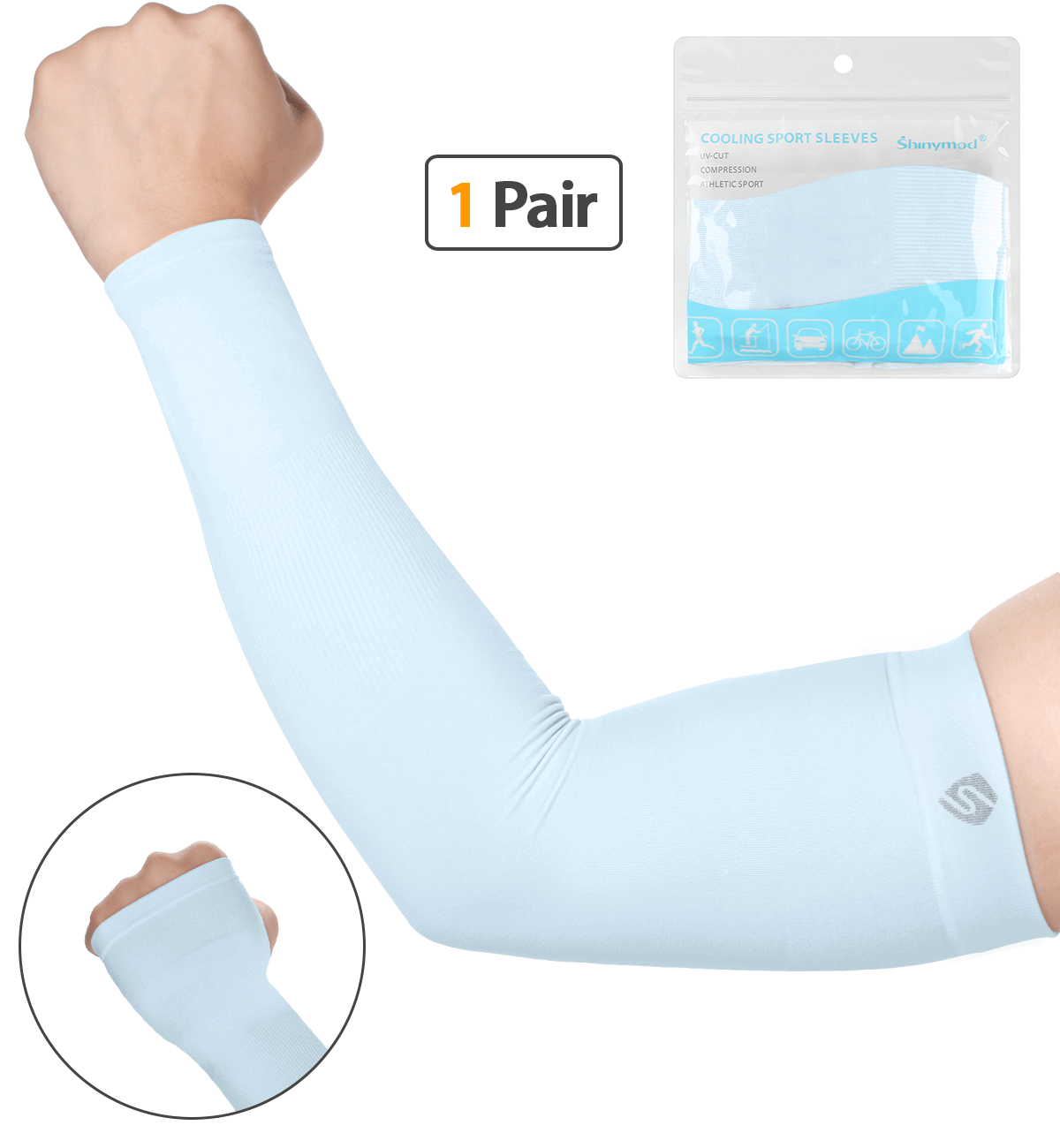 Arm Sleeves Compression Warmers to Cover Tattoo - Sports Accessories Collectors - Shinymod