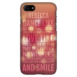 Music & Dance - Personalised Phone Case