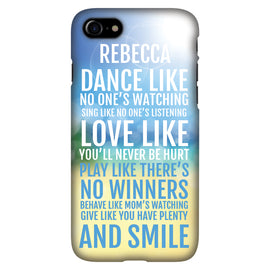 Dance & Sing - Personalised Phone Case