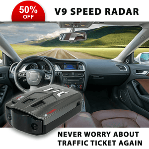 V9 Speed Radar - Never Worry About Traffic Ticket Again