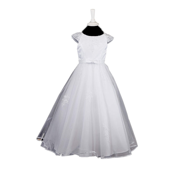 Poinsetta Communion Dress - 689 - jean-millar-bridal