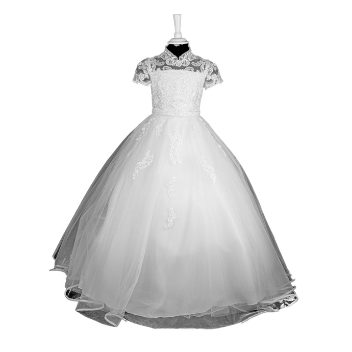 Isabella Communion Dress - 693 - jean-millar-bridal