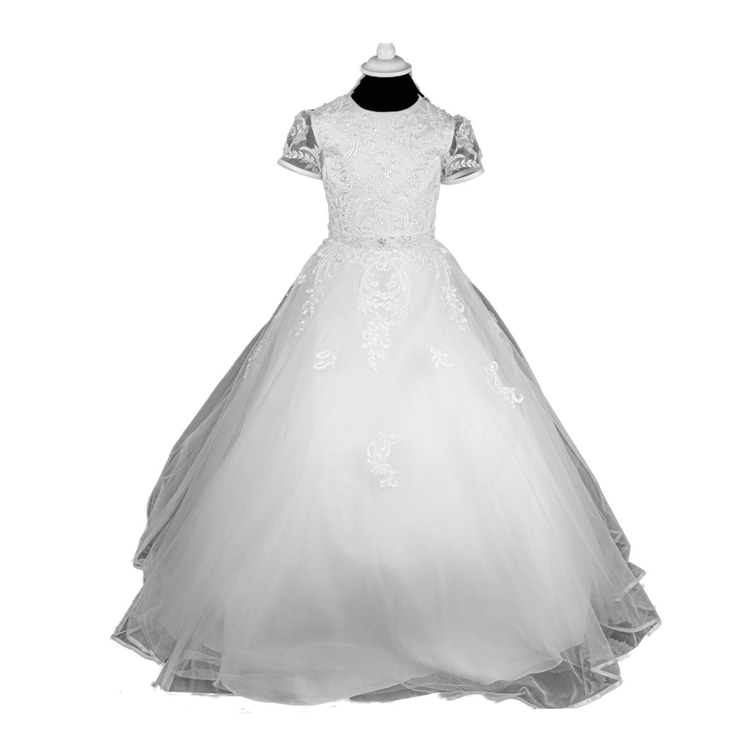 Isabella Communion Dress - 692 - jean-millar-bridal
