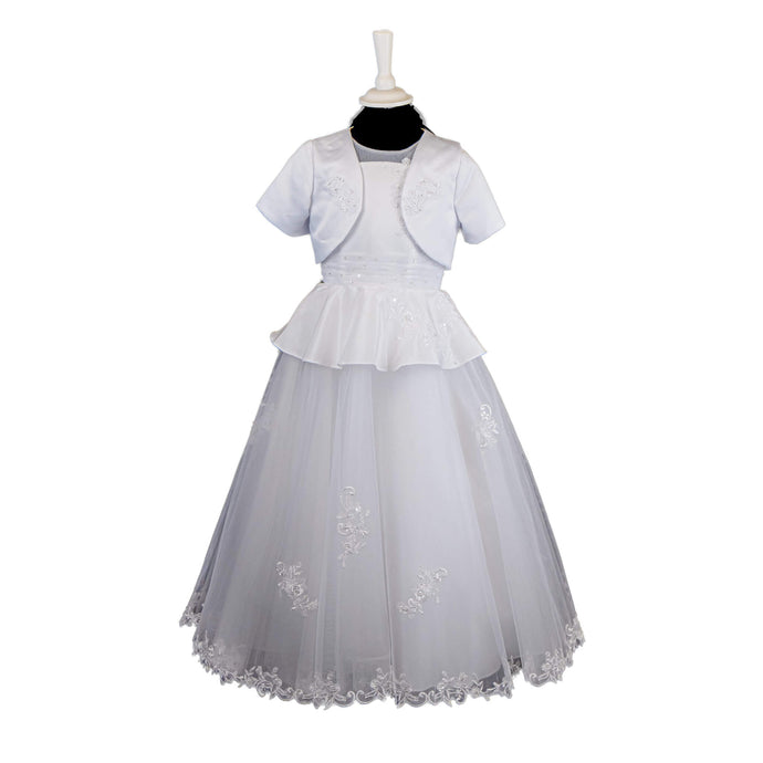 Poinsettia Communion Dress - 660 - jean-millar-bridal