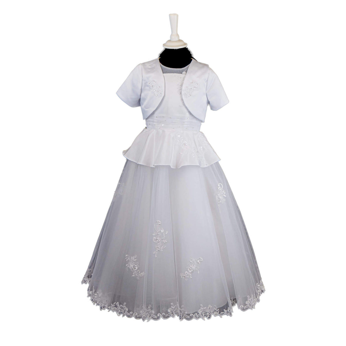 Load image into Gallery viewer, Poinsettia Communion Dress - 660 - jean-millar-bridal