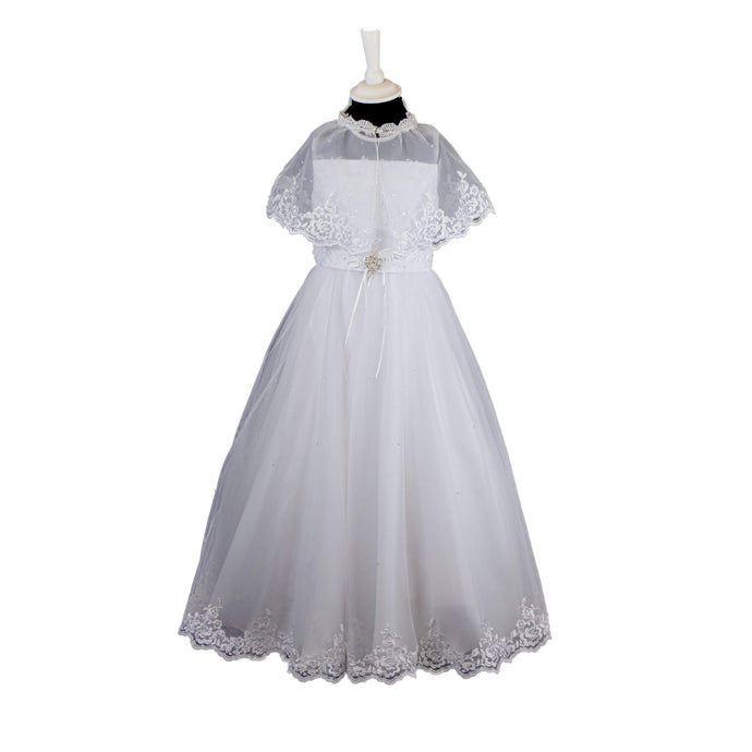 Poinsettia Communion Dress - 671 - jean-millar-bridal