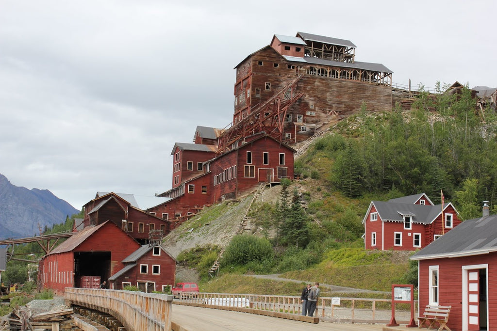 Kennecott Mill Ruin McCarthy Alaska - Travel PAKT