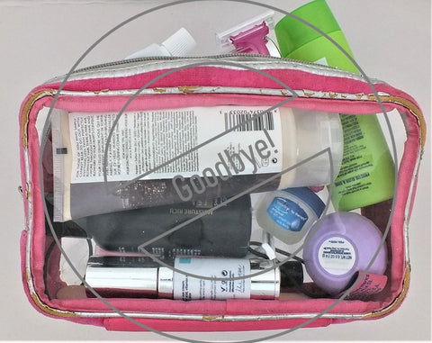 Old Travel Size Toiletries Bag - Travel Pakt
