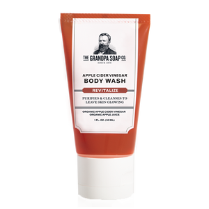 Grandpa Soap Co. Apple Cider Vinegar Body Wash - Travel PAKT