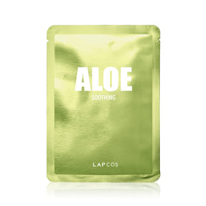 LAPCOS Aloe Soothing Mask - Travel PAKT
