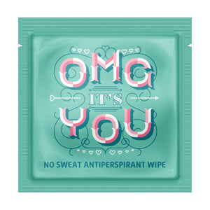 Antiperspirant Wipe - Travel PAKT
