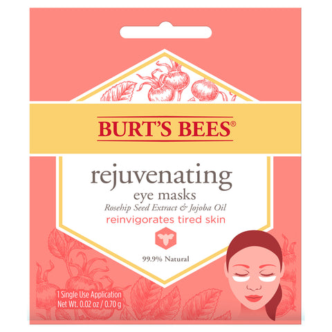 Burt's Bees Rejuvenating Eye Masks - Travel PAKT