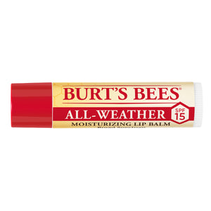 Burt's Bees All-Weather Lip Balm SPF 15 - Travel PAKT