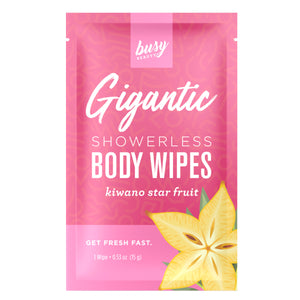 Busy Beauty Gigantic Body Wipe - Travel PAKT