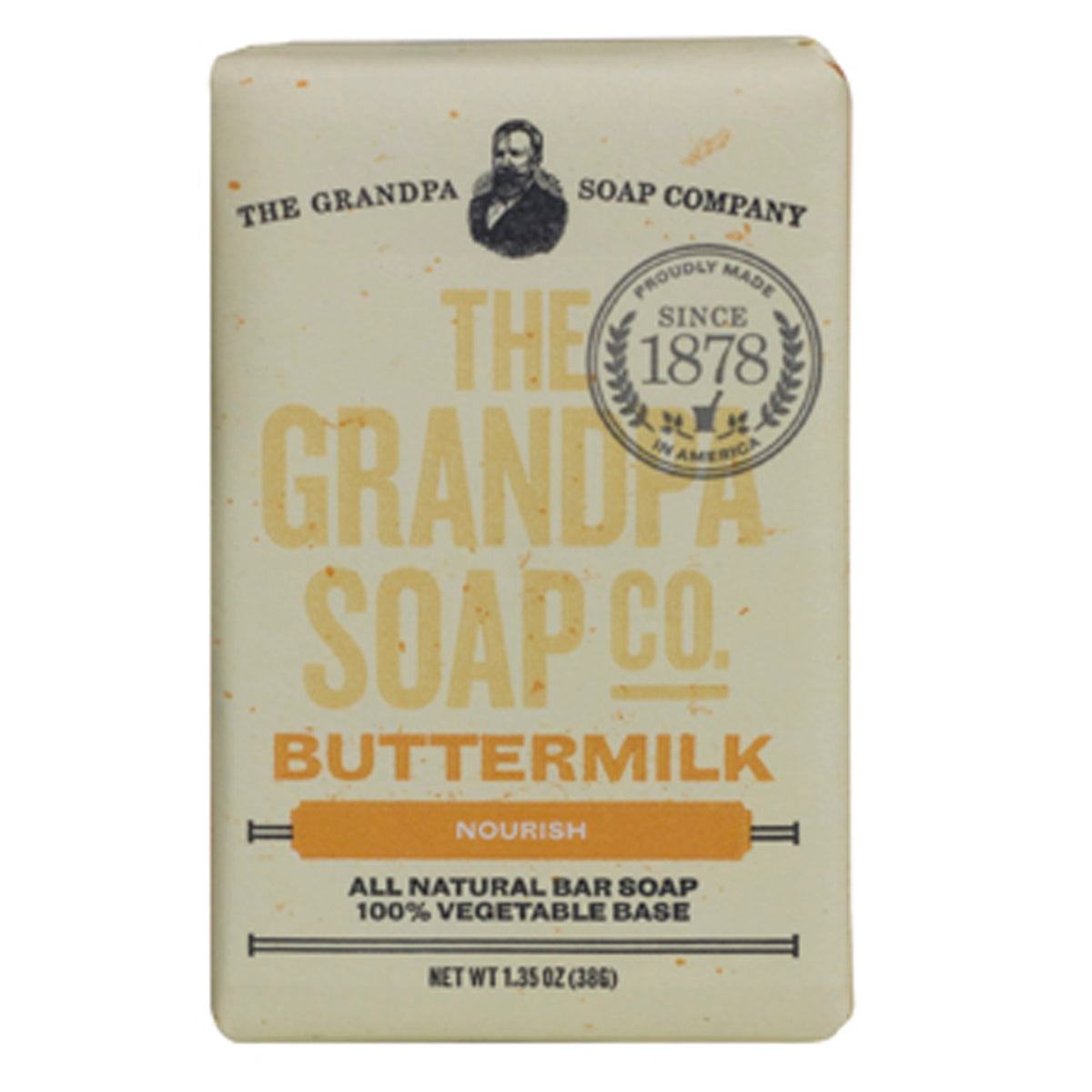 Grandpa Soap Co. Buttermilk Soap - Travel PAKT