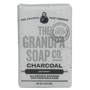 Grandpa Soap Co. Charcoal Soap - Travel PAKT