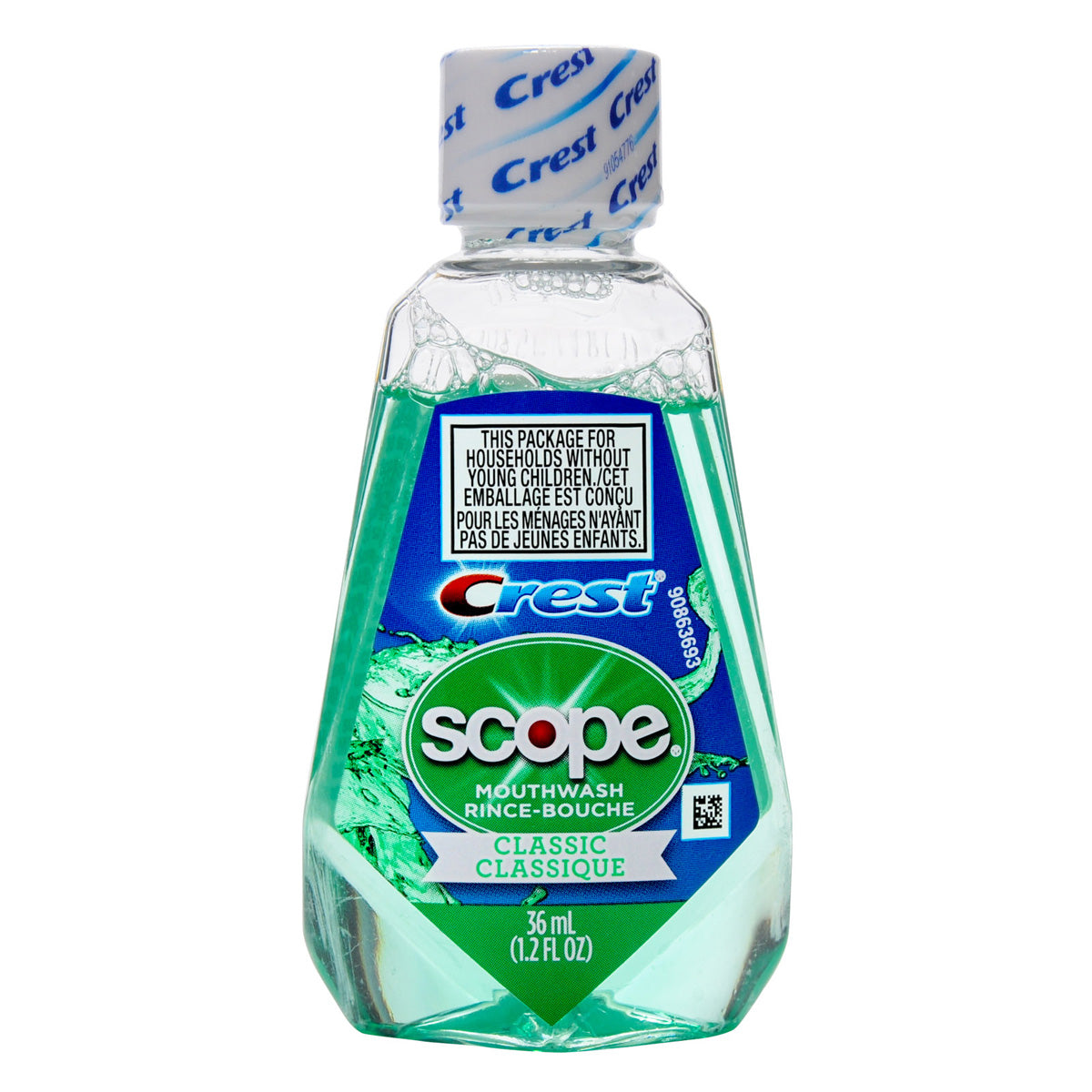 Crest Scope Mouthwash - Travel PAKT