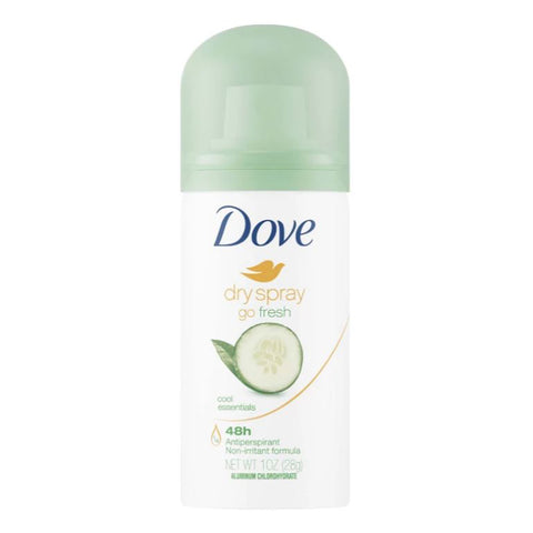 Dove Dry Spray Antiperspirant and Deodorant - Travel PAKT