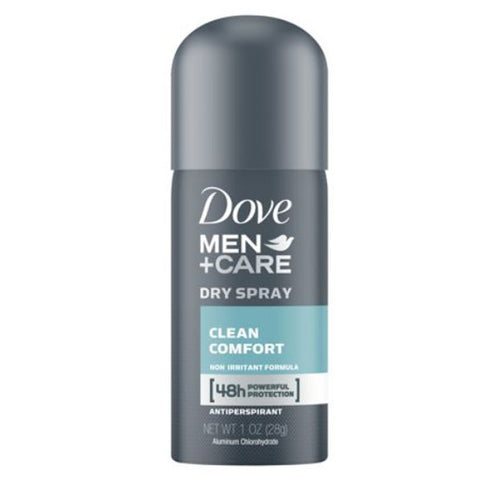 Dove Men + Care Dry Spray Antiperspirant Deodorant - Travel PAKT