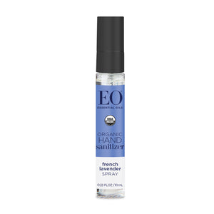 EO Organic Hand Sanitizer Spray French Lavender - Travel PAKT