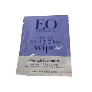EO Organic Natural Hand Sanitizer Wipe - Travel PAKT