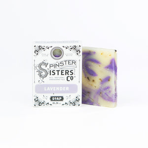 Spinster Sisters Lavender Soap - Travel PAKT