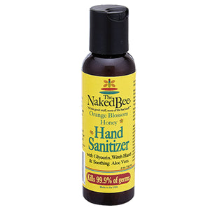 Naked Bee Hand Sanitizer 2 oz. - Travel PAKT