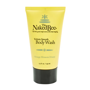 Naked Bee Body Wash - Travel PAKT