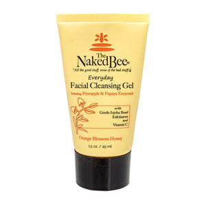 Naked Bee Facial Cleansing Gel - Travel PAKT