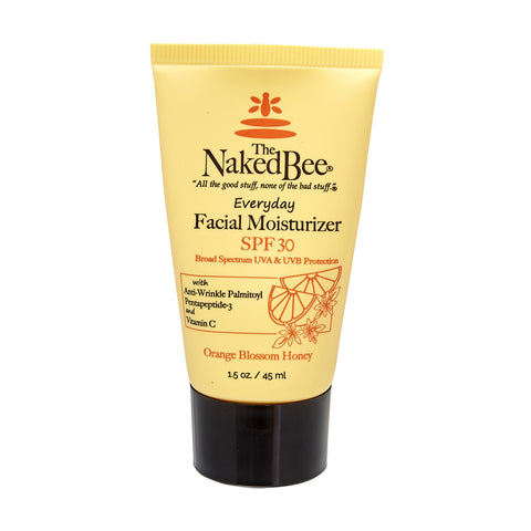Naked Bee Facial Moisturizer SPF 30 - Travel PAKT