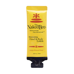 Naked Bee Lotion Single - Travel PAKT