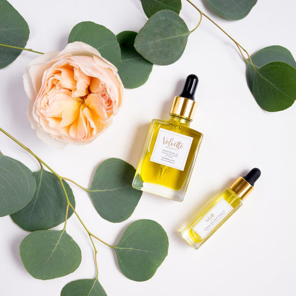 Velvette Organics Night Facial Oil - Travel PAKT