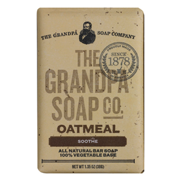 Grandpa Soap Co. Oatmeal Soap - Travel PAKT