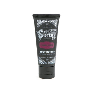 Spinster Sisters Pomegranate Body Butter - Travel PAKT