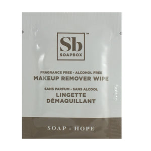Soapbox Makeup Remover Wipe - Travel PAKT