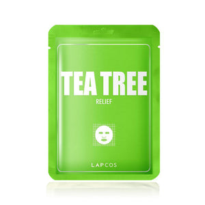 LAPCOS Tea Tree Relief Mask - Travel PAKT