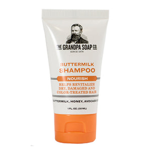 Grandpa Soap Co. Buttermilk Shampoo - Travel PAKT